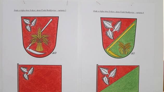 Porotci, kteří budou mluvit do podoby obecních symbolů, jsou obyvatelé Zvíkova.