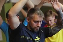 Petr Gřegořek trénuje naplno.