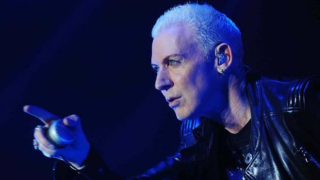 Scooter, německá legenda elektronické taneční hudby, zahraje 11. června poprvé v Českých Budějovicích, koncert bude  na výstavišti. Na snímku zpěvák H. P. Baxxter.