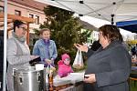 V sobotu se v Horní Stropnici konaly velikonoční trhy.