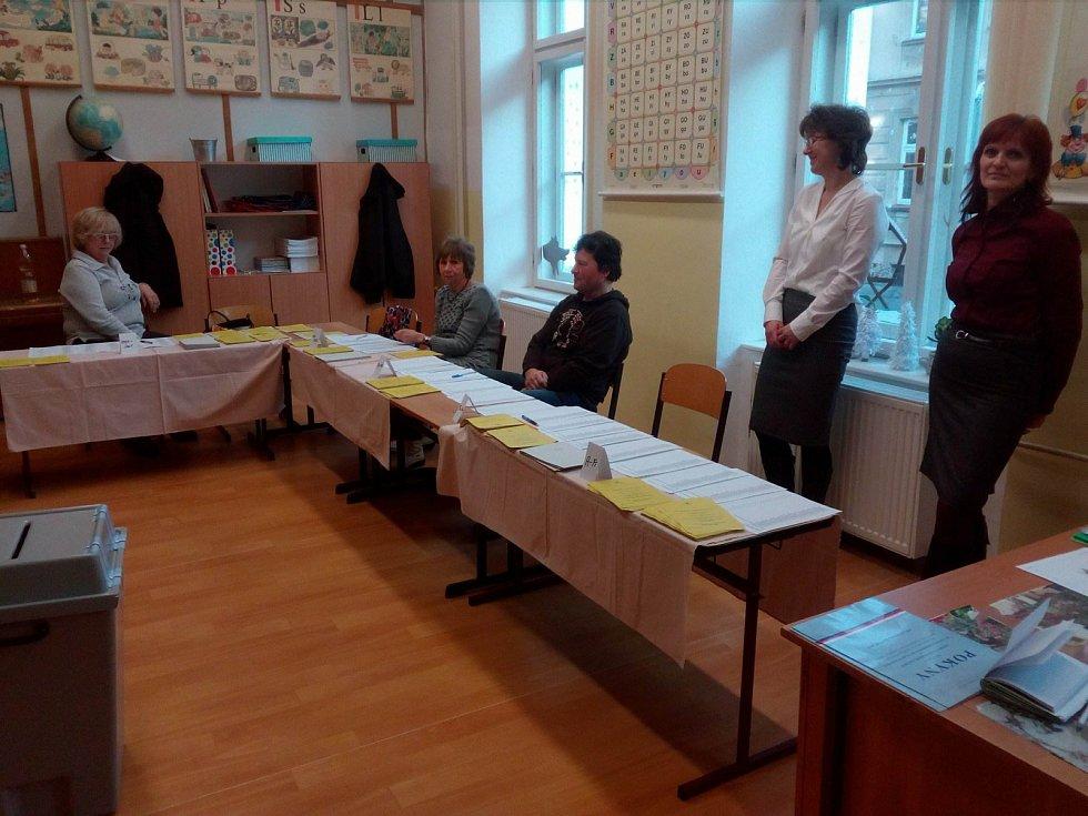 Volební okrsek číslo 75 v Českých Budějovicích se nachází v ZŠ Matice školské.