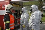 Připraveni k zásahu – zdravotníci, hasiči i policejní hlídky mohou plnit své úkoly při řešení rizikové situace..