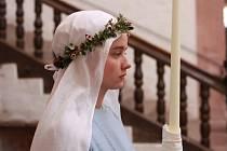 Festival francouzského filmu, záběr ze snímku Jeptiška, v hlavní roli Pauline Etienne.