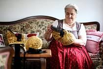 Zlaté čepce jsou kulturním dědictvím.