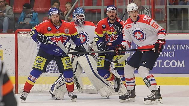 V devátém kole první WSM ligy přivítal domácí Motor v Budvar aréně Horáckou Slavii Třebíč.