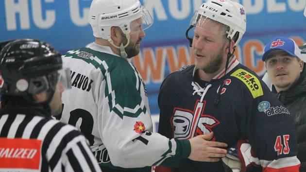 David servis porazil v rozhodujícím utkání Č. Krumlov 12:3 a postupuje do finále krajské ligy.
