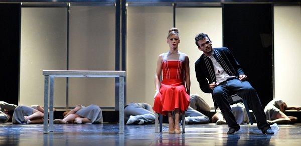 Kauza Kafka, balet Jihočeského divadla a jeho první premiéra vletošní sezoně.