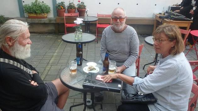 Z festivalu Literatura žije. Autorské čtení měl také publicista a spisovatel Aleš Palán.