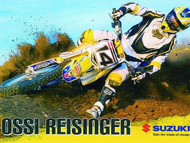 Jeden z nejlepších současných rakouských motokrosařů Oswald Reisinger hájil barvy Motosportklubu Netolice už na podzimním mistrovství republiky družstev v Kaplici. Za týden v neděli 3. května pojede v netolických barvách Memoriál Karla Samohejla.
