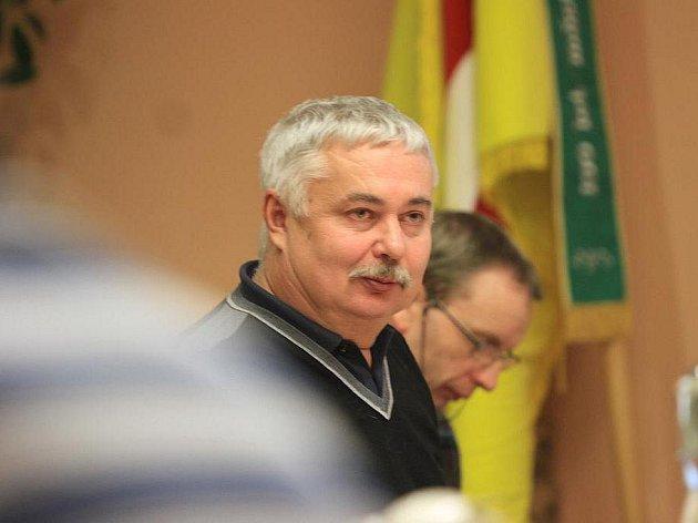 Místostarosta Hluboké nad Vltavou Pavel Dlouhý.