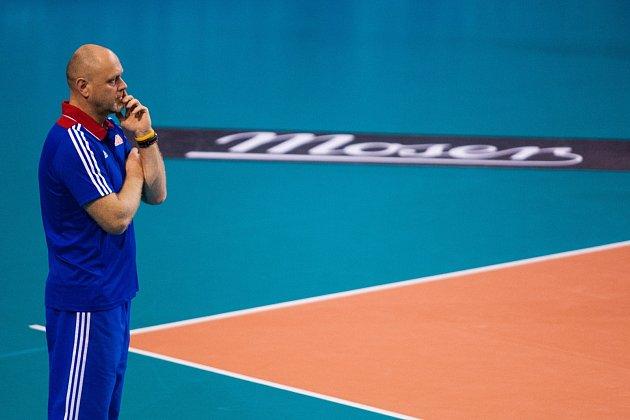 Trenér české reprezentace Zdeněk Šmejkal