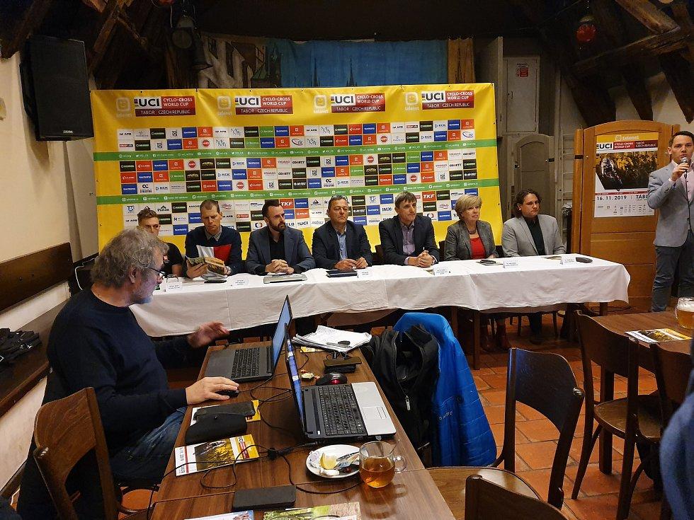 V sobotu se pojede na táborské trati Komora Světový pohár v cyklokrosu.