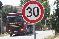 Objíždka E55 mezi Borkem a Ševětínem.