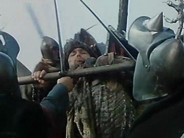 Záběr zfilmu Jestřábí moudrost.