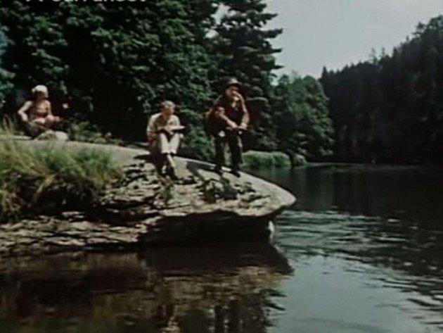 Místo, které využil iFrantišek Čáp do filmu Ohnivé léto sLídou Baarovou.