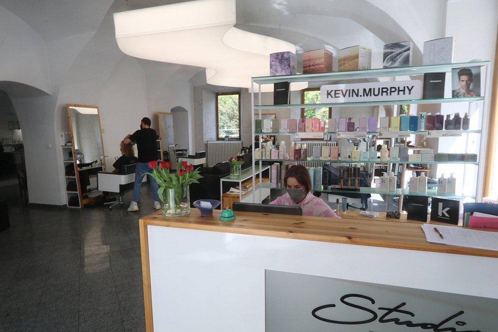 Kadeřnický salon Studio 21 v Hradební ulici