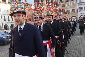 Masopust v Českých Budějovicích.