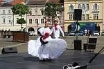 Českobudějovické náměstí se přeneslo v pátek odpoledne do Mexika. Lidé tu poznali tamní kulturu a ochutnali místní speciality.