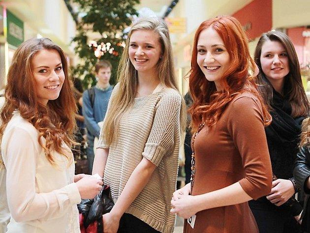 Casting na Českou Miss v Českých Budějovicích.