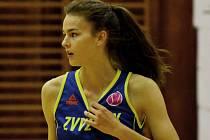 JIHOČEŠKA. Veronika Voráčková v ligovém utkání proti týmu U19 Chance potvrdila, že je velkým talentem.