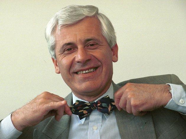 Jindřich Goetz (1939-2016) na snímku z roku 1994.
