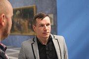 Alšova jihočeská galerie otevřela na Hluboké výstavu Ilja Repin a ruské umění. Nabízí přes 100 prací, potrvá do 27. září. Na snímku ředitel Alšovky Aleš Seifert.