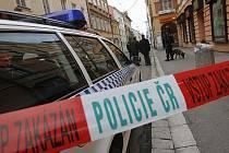 V Krajinské ulici byl ohlášen výbuch bomby