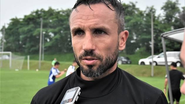 Tomáš Sivok v přípravě s Vlašimí po dlouhé době zase hájil barvy Dynama.