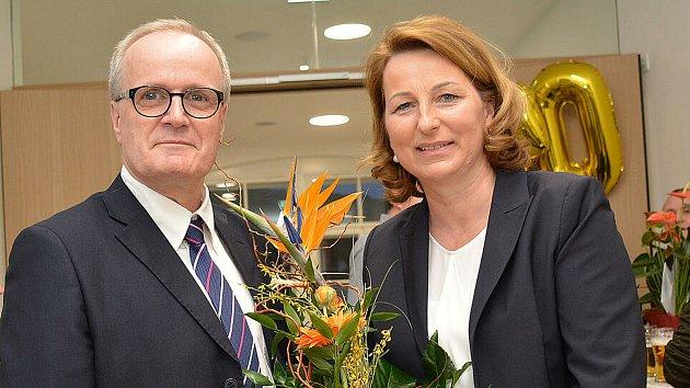 'Poperou se' okřeslo starosty ve Freistadtu.