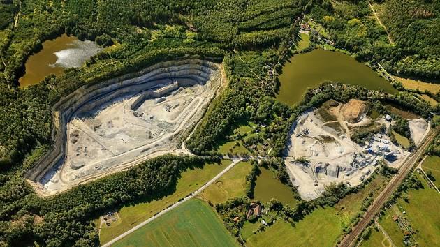 Jak by mohlo vypadat území u Ševětína, kde se nyní nachází starý kamenolom, ukazuje vizualizace.