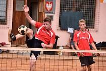 V nohejbalovém derby vyhrála domácí Radomyšl