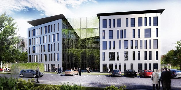 Na jaře 2018by na křižovatce ulic Mánesova a Lidická mělo stát Administrativní centrum Piano.