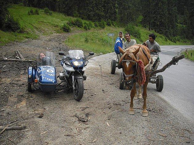 Šárka Holasová s Radkem Krieglerem si cestu užili.