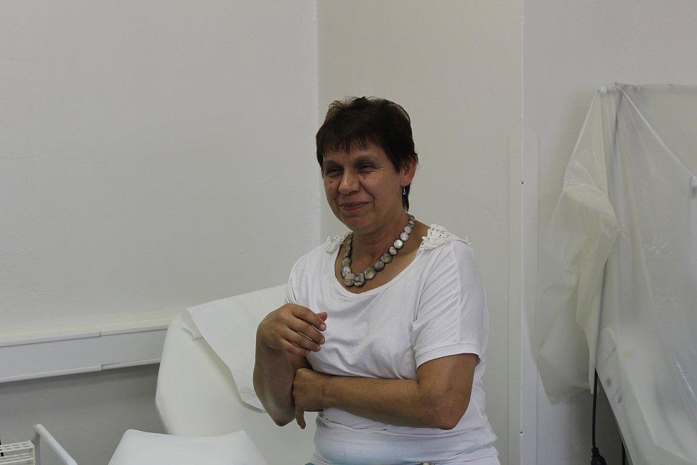 Jihočeši přichází darovat krev do českobudějovické nemocnice.