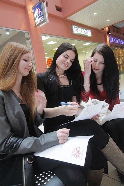 Casting Elite Model Look 2014 v Českých Budějovicích.