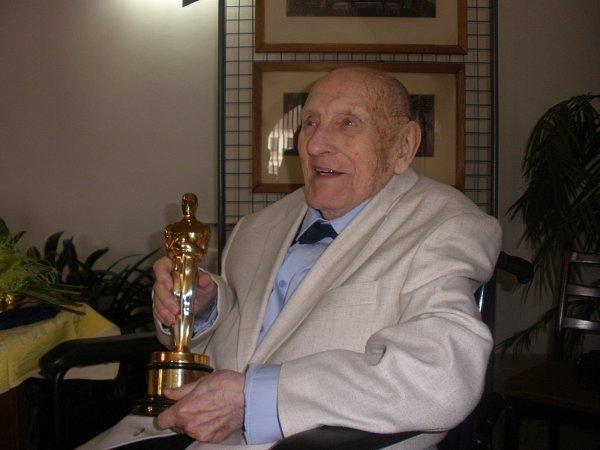 Filmový architekt Karel Černý sOskarem.