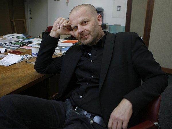 Kurátor Domu umění Michal Škoda.
