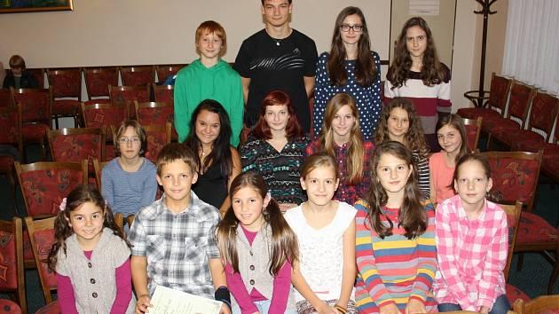 Šestnáct talentů zcela ovládlo soutěž ve Vidnavě.