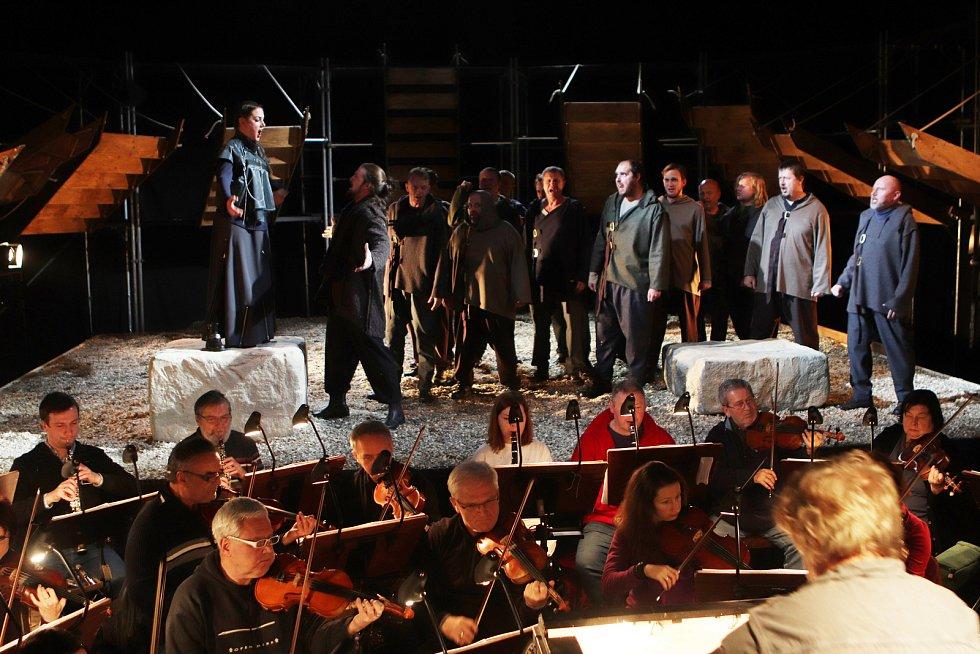 Opera Dalibor v divadle Bouda
