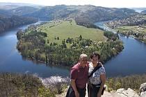 Vyhlídka nad Vltavou mezi Zduchovicemi a Solenicemi je v posledních letech vyhledáváným turistickým cílem.