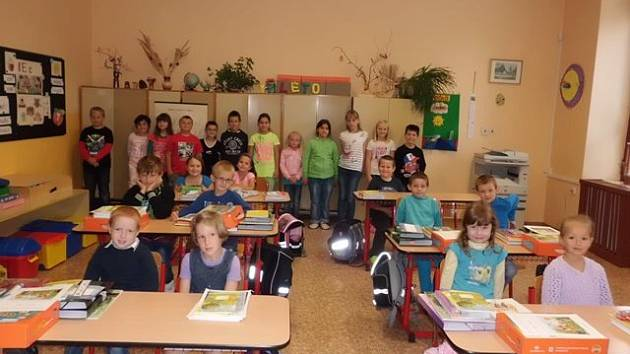 První školní den na ZŠ a MŠ Žimutice.