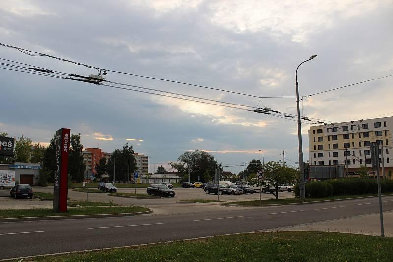 Sídliště Vltava v Českých Budějovicích. Ilustrační foto.