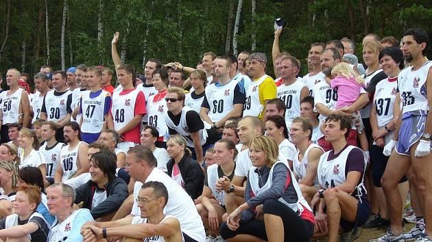 O rekreační triatlon ve Veselí nad Lužnicí byl velký zájem.