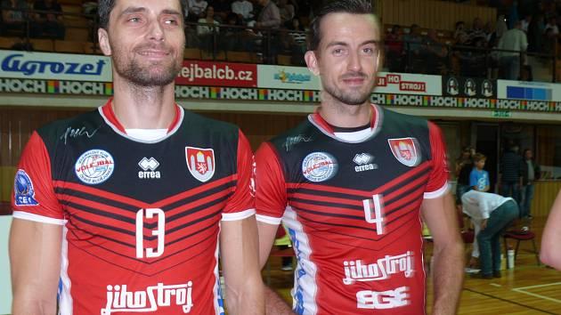 Jihostroj České Budějovice v extralize, Tomáš Fila a Filip Křesťan