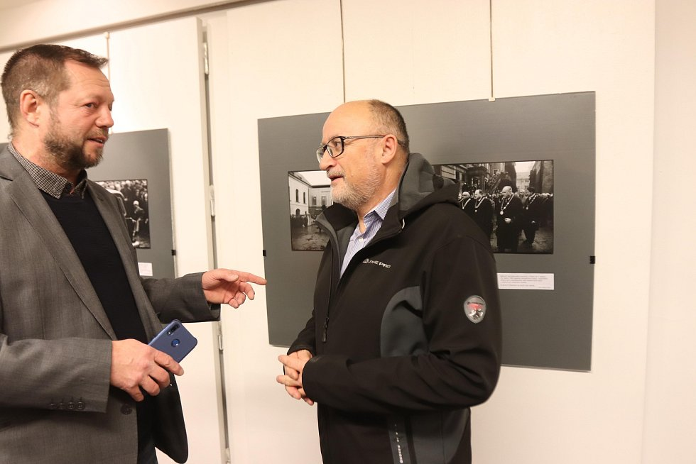 Výstava Jan Palach v galerii Nahoře