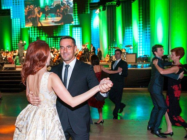 Jihočeský ples ovládl výstaviště.