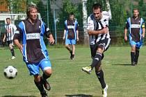 Dvěma góly k vítězství hvězd Dynama v Mokrém přispěl nynější sportovní manažer Martin Vozábal.