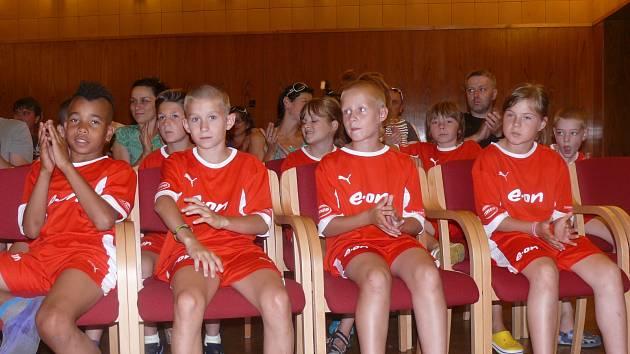 E.ON Fotbalová škola v Třeboni