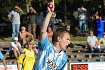 Martin Jasanský dal Zlínu oba góly.