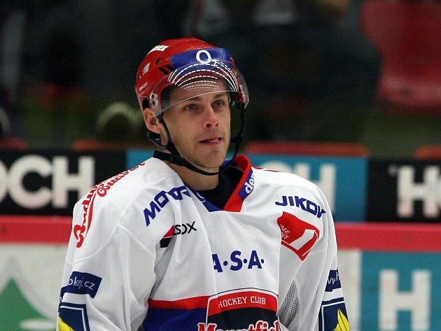 Lukáš Květoň dal proti Spartě první gól zápasu, na body to ale tentokrát nestačilo.
